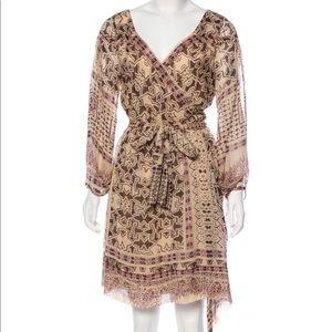DVF Sheet Wrap Dress